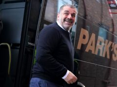 Celtic manager Ange Postecoglou has been looking ahead (Andrew Milligan/PA)