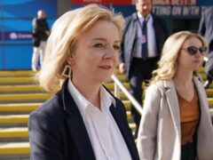Liz Truss said woman can be fearful of going out at night (Jacob King/PA)