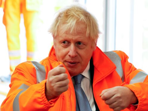 Boris Johnson had given the country a 'unique opportunity to build a national consensus on levelling up', Lord Liddle said (Phil Noble/PA)