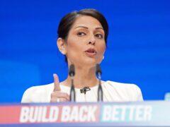 Home Secretary Priti Patel (Stefan Rousseau/PA)