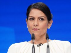 Home Secretary Priti Patel speaks at the Conservative Party Conference in Manchester (Stefan Rousseau/PA) Picture date: Tuesday October 5, 2021.