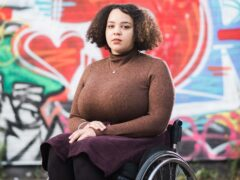 Cassie Lovelock was pushed and threatened by men (Leonard Cheshire Disability/PA)