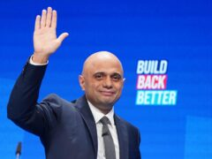 Health Secretary Sajid Javid during the Conservative Party Conference in Manchester (Stefan Rousseau/PA)