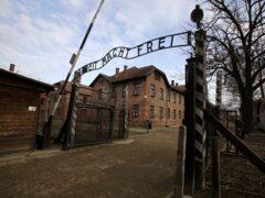 The gate of the Auschwitz Nazi death camp (Markus Schreiber/AP)