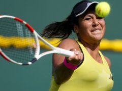Britain's Heather Watson suffered an early exit in Indian Wells (AP Photo/Mark J. Terrill)