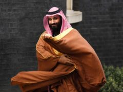 Mohammed bin Salman (Victoria Jones/PA)