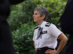 Metropolitan Police Commissioner Dame Cressida Dick (Elsa Keep/PA)