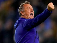 Tranmere manager Micky Mellon saw his side take three points at Carlisle (Martin Rickett/PA(