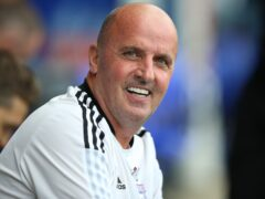 Paul Cook's side battled to a deserved victory over Shrewsbury (Nigel French/PA)