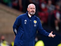 Scotland's belief keeps growing, says manager Steve Clarke (Jane Barlow/PA)