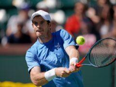 Andy Murray pulled off a fine win over Carlos Alcaraz (Mark J Terrill/AP)