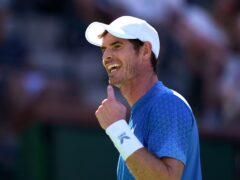 Andy Murray battled to victory over Carlos Alcaraz at Indian Wells (Mark J. Terrill/AP)