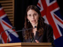 New Zealand Prime Minister Jacinda Ardern (AP)