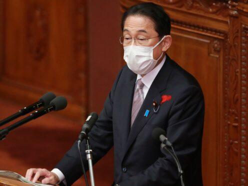 Fumio Kishida (AP Photo/Koji Sasahara)