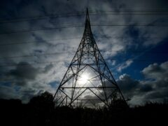 Boris Johnson has vowed that Britain's electricity will be entirely green by 2035 (Peter Byrne/PA)