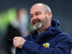 Scotland head coach Steve Clarke is happy to have Lyndon Dykes (Andrew Milligan/PA)