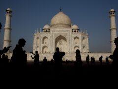 The Taj Mahal (AP)