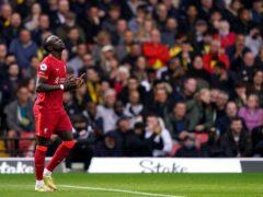 Sadio Mane scored against Watford (Tess Derry/PA)