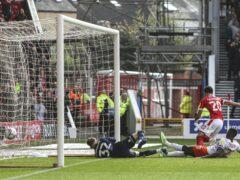 Brennan Johnson opened the scoring for Nottingham Forest against Blackpool (Kieran Cleeves/PA)