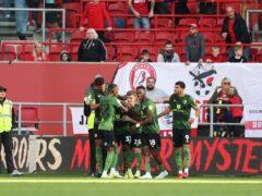 Bournemouth's Jordan Zemura celebrates (Bradley Collyer/PA)