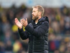 Brighton manager Graham Potter intends to get the maximum out of his squad this season (Joe Giddens/PA)