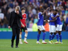Ole Gunnar Solskjaer's (left) Manchester United lost at Leicester on Saturday (Mike Egerton/PA)