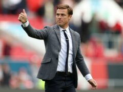 Bournemouth manager Scott Parker gives a thumbs up to the fans (Bradley Collyer/PA)