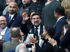 New Newcastle chairman Yasir Al-Rumayyan (Owen Humphreys/PA)