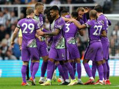 Tottenham outclassed Newcastle (Owen Humphreys/PA)