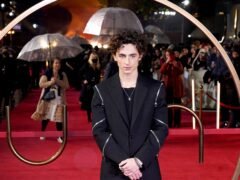 Timothee Chalamet attends a special screening of Dune at the Odeon Leicester Square in London (Ian West/PA)