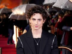 Timothee Chalamet stars in Dune – a sequel to the sci-fi film has been announced (Ian West/PA)