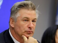 A documentary narrated by Alec Baldwin has had its North American release postponed after the actor fatally shot a cinematographer with a prop gun on the set of a separate film (AP Photo/Seth Wenig, File)