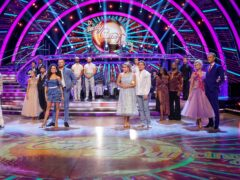 The 2021 Strictly Come Dancing cast (Keiron McCarron/BBC/PA)
