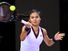 Emma Raducanu was victorious in Cluj (PA)