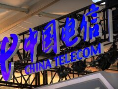 China Telecom is among companies that were expelled from US stock exchanges under an order by Donald Trump barring Americans from investing in them (Mark Schiefelbein/AP)