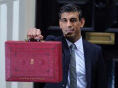Chancellor of the Exchequer, Rishi Sunak (Jacob King/PA)