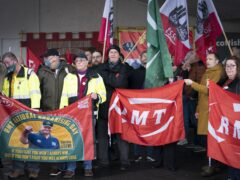 The general secretary of the RMT union has called for the Scottish Government and Transport Scotland to rebuild trust after pay disputes were resolved (Jane Barlow/PA)