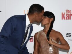 Jada Pinkett Smith said expectation causes difficulties in her sex life with husband of 24 years Will Smith (Yui Mok/PA)