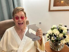 Sir Elton John is at number one (Official Charts Company/PA)