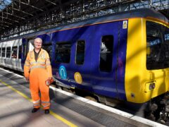 Craig Neild is celebrating half a century in the rail industry (Northern/PA)