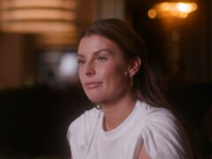 Coleen Rooney is seen in the first trailer for Amazon's Rooney biopic (Amazon)