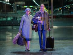 Olivia Colman and David Thewlis star together in Landscapers (Sky Original/PA)
