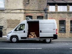 The electric van is a quieter and more relaxing option, according to the survey