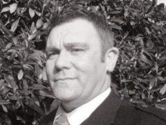 Derek Blackshaw died on Friday night (Police Scotland/PA)