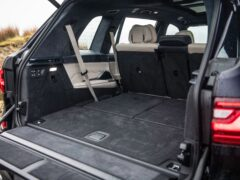 The X7 offers a huge amount of space