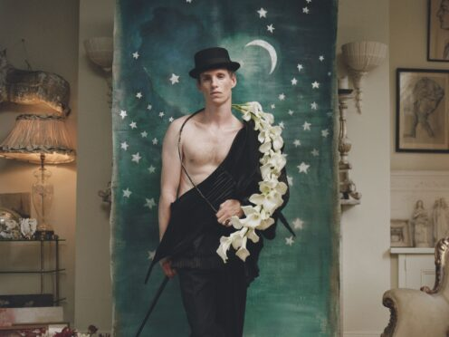 Eddie Redmayne has defended his casting as a character typically played by LGBT actors in a production of Cabaret (Autumn de Wilde/Vogue/PA)