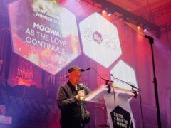 Stuart Braithwaite of Mogwai accepted the award at the Edinburgh ceremony (Scottish Album of the Year/PA)