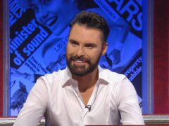 Rylan Clark appeared on the pane show (BBC/Hat Trick/PA)