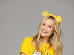 Stars including Laura Whitmore are backing a Children In Need appeal to help disadvantaged young people (Children In Need/PA)