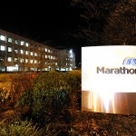 Marathon Oil losses narrow as international production lifts